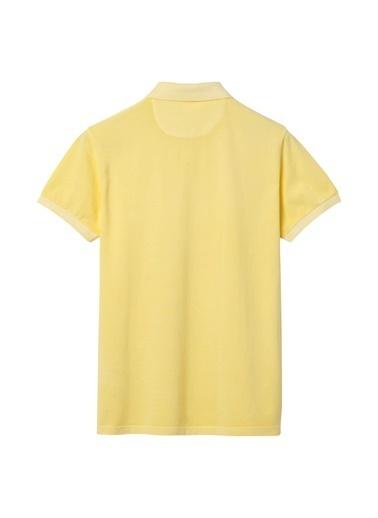Gant Polo Yaka Tişört Sarı